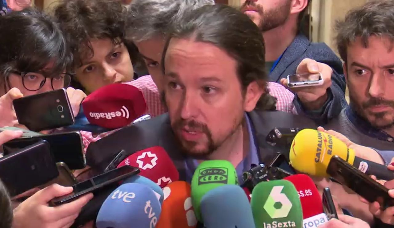 """Pablo Iglesias no hace """"ningún matiz"""" a la postura de Pedro Sánchez sobre Venezuela"""