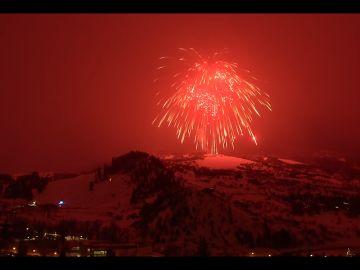 Fuego artificial más grande del mundo