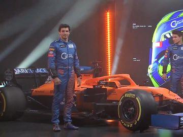 Carlos Sainz, con el nuevo McLaren