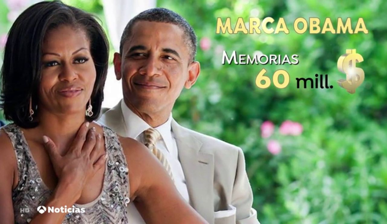 El éxito de los Obama continúa tres años después de su salida de la Casa Blanca