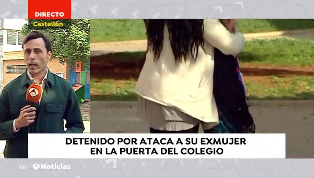 Un hombre evita que otro asesina a su exmujer en la puerta del colegio de su hijo en Castellón