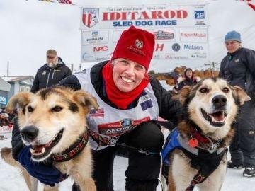 Carrera de perros Iditarod.