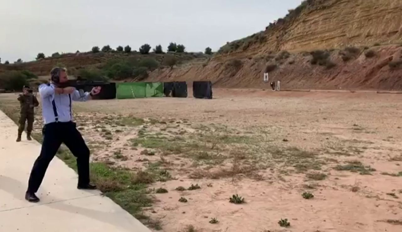 ERC registra una Proposición no de Ley para que se investiguen las prácticas de tiro de Ortega Smith