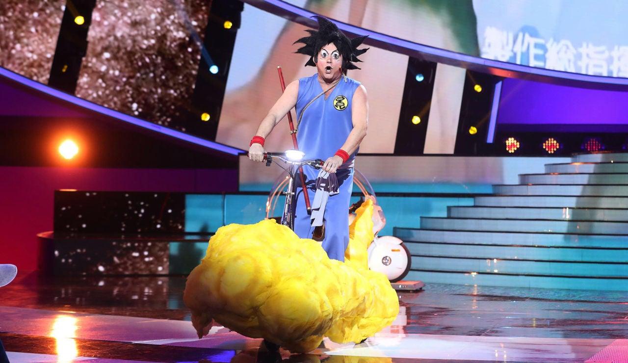 El Monaguillo es un superguerrero con 'Makafushigi adventure!' de Son Goku en 'Tu cara me suena'