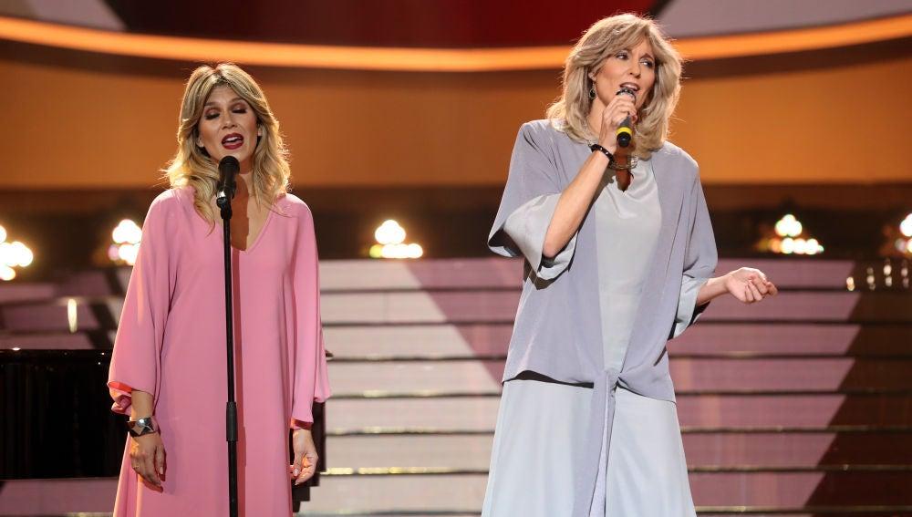 La elegancia de Rocío Madrid con 'Lady, lady' de Bravo en 'Tu cara me suena'
