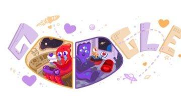 San Valentín Google