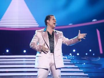 Gerónimo Rauch sorprende con 'The great pretender' de Freddie Mercury en 'Tu cara me suena'