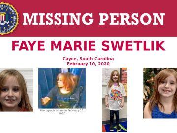 Encuentran muerta a una menor de seis años desaparecida en EEUU