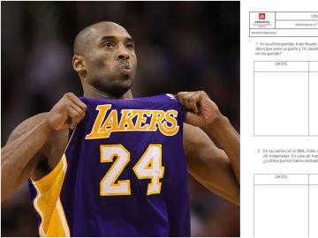 El genial examen sobre Kobe Bryant