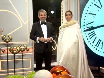 El primer vestido de Cristina Pedroche en las Campanadas de Antena 3