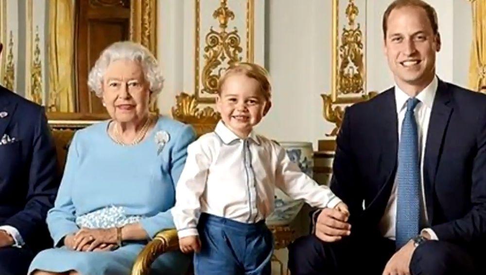 Monarquía británica. Príncipe Jorge