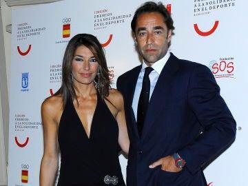 Raquel Revuelta y su exmarido