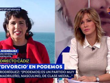 """Teresa Rodríguez, tras su salida de Podemos: """"El Podemos de ahora no es el del principio"""""""