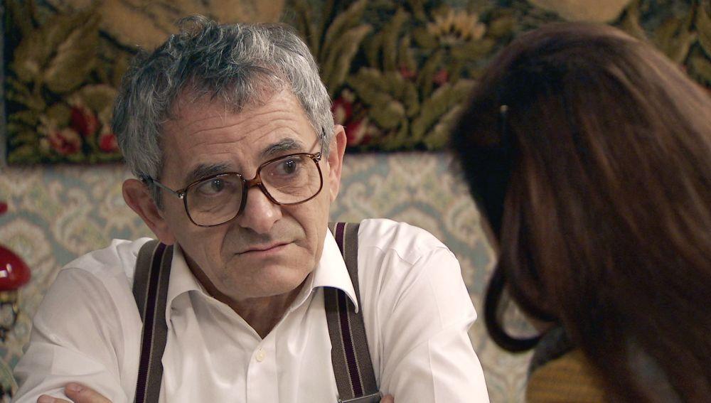 Sofía calma la insoportable angustia de Quintero tras la nueva recaída de Manolita