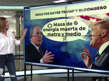 Batalla de insultos entre Donald Trump y Michael Bloomberg en Twitter