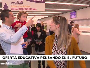 Una feria en Madrid aconseja a los padres a escoger colegio