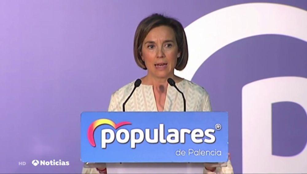Cuca Gamarra, vicesecretaria de Política Social del Partido Popular