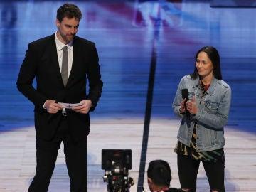 Pau Gasol rinde homenaje a Kobe Bryant en la presentación del All Star