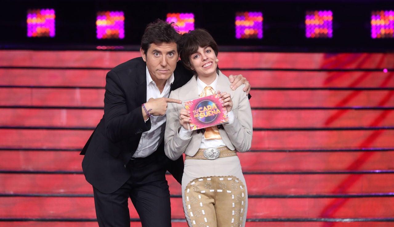 Nerea Rodríguez se convierte en la ganadora de la sexta gala de 'Tu cara me suena'
