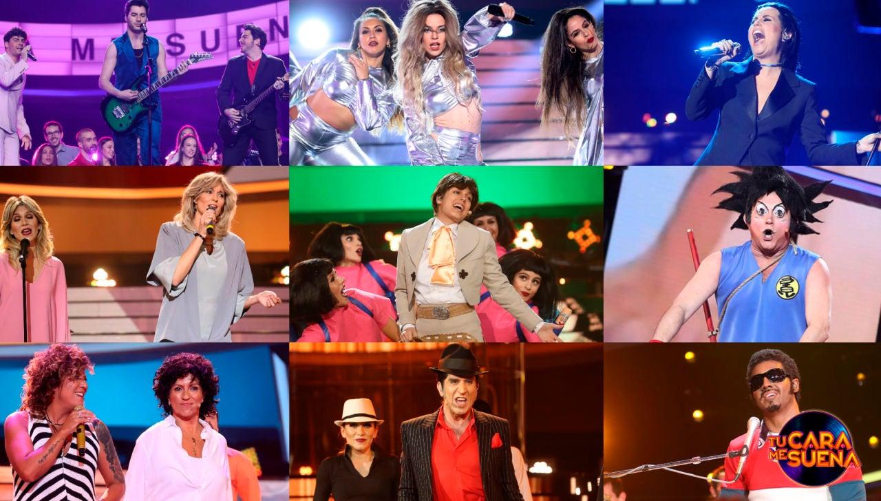 ¡Vota por la mejor actuación de la sexta gala de la octava edición de 'Tu cara me suena'!