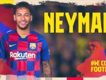 Hackena el Twitter del Barça y anuncian la llegada de Neymar