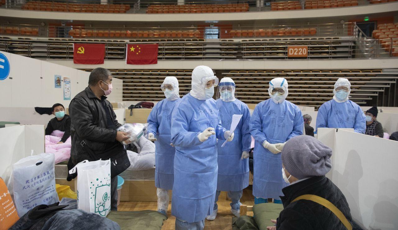 Hospital de China por el coronavirus