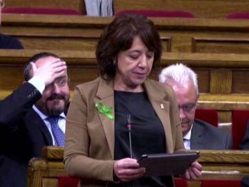 La irónica respuesta de Alejandro Fernández tras hacerse viral su reacción a las palabras Anna Erra sobre los catalanohablantes