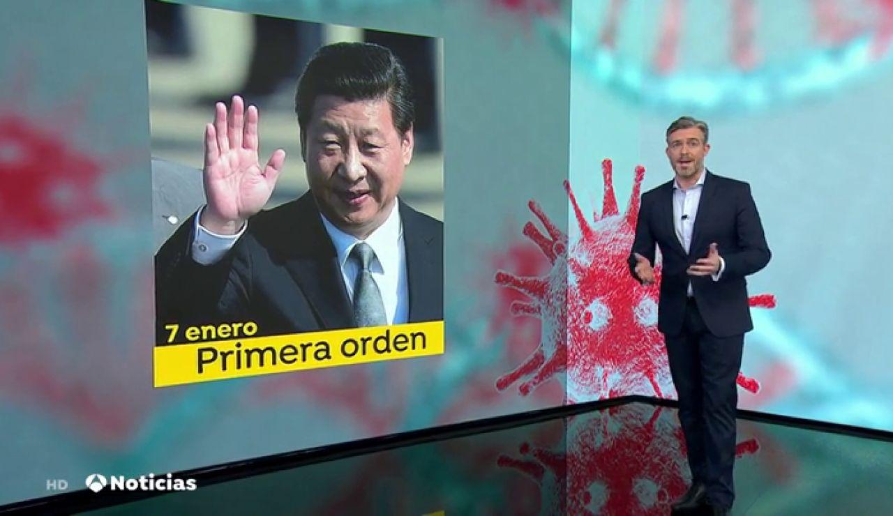 Las autoridades chinas han contribuido a la espiral nociva de sobreinformación conocida como infodemia