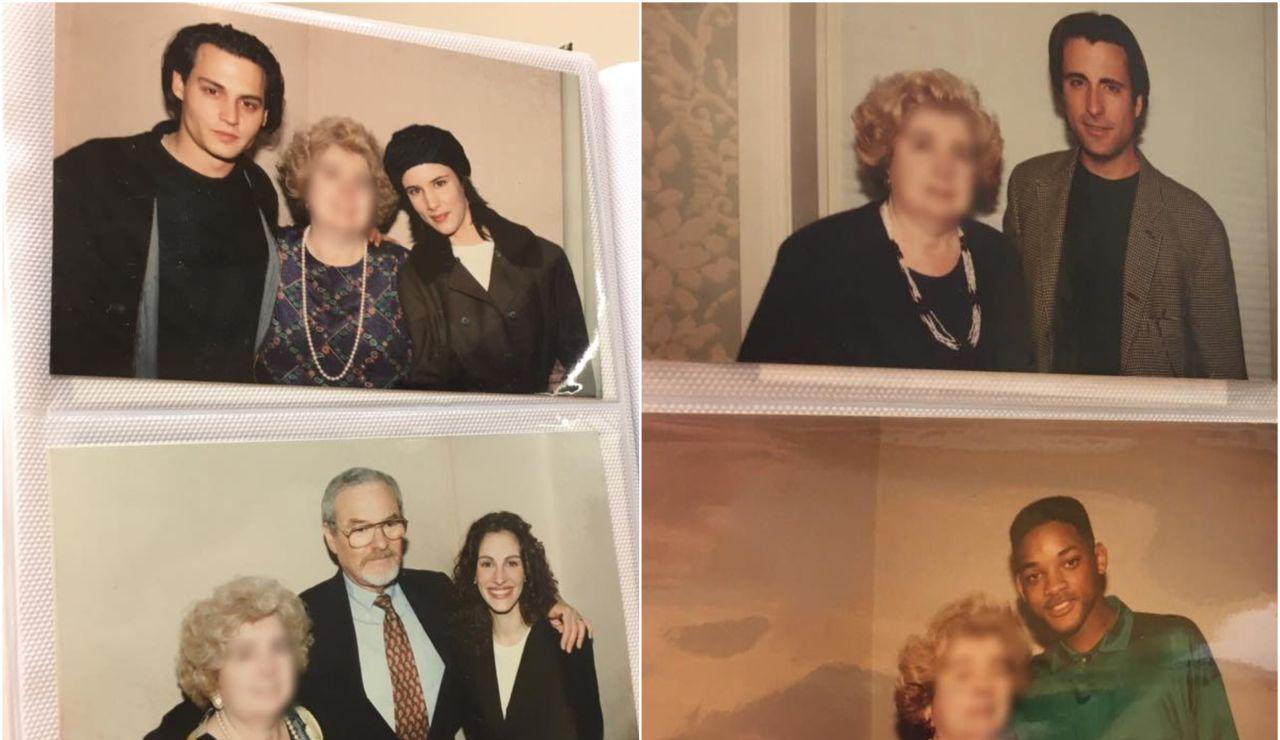 Algunas de las fotos de la misteriosa mujer