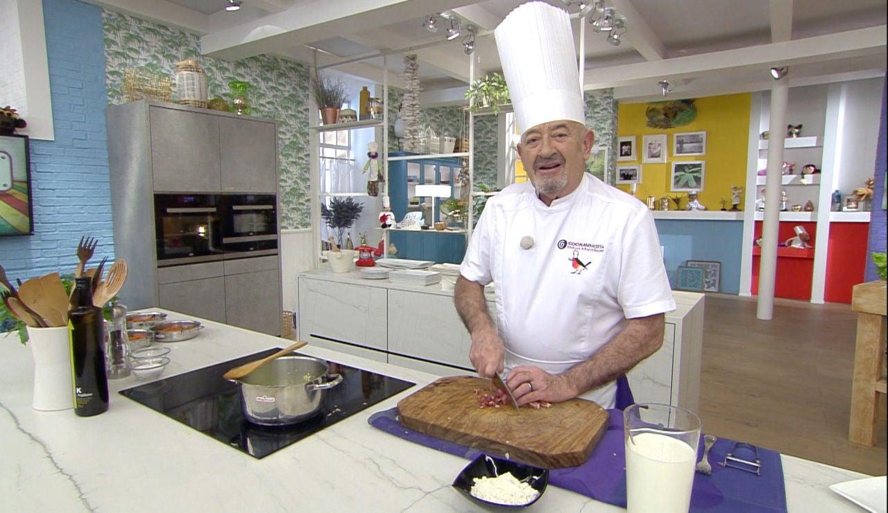 La receta más barata que Karlos Arguiñano improvisa durante el programa