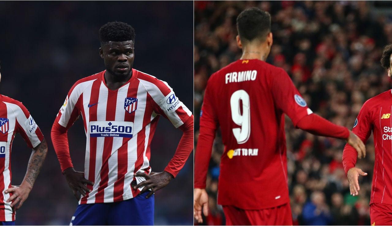Atlético de Madrid - Liverpool: Alineaciones y dónde ver el partido de Champions League en directo