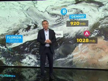 La 'superborrasca' Dennis recorre 6.000 kilómetros azotando Europa
