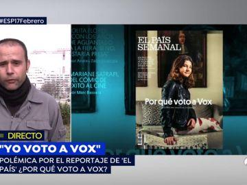"""Un obrero votante de Vox: """"Voto a Santiago Abascal porque defiende a la clase obrera"""""""