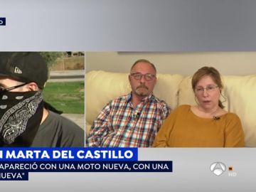 Padres de Marta del Castillo.