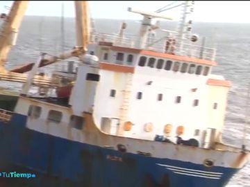 La tormenta 'Dennis' arrastra hasta Irlanda el 'barco fantasma' que quedó a la deriva en las Bermudas en 2018