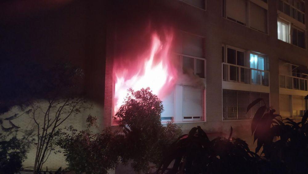 Incendio en Barcelona en el que 15 personas han resultado heridas