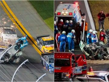 Fotografías del accidente de Ryan Newman en las 500 Millas de Daytona