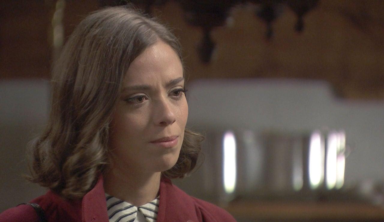El triste adiós Marta entre sinceras lágrimas