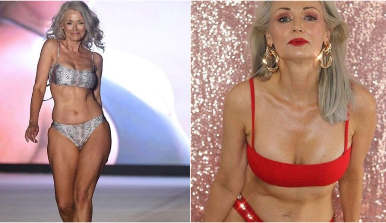 La modelo californiana Kathy Jacobs