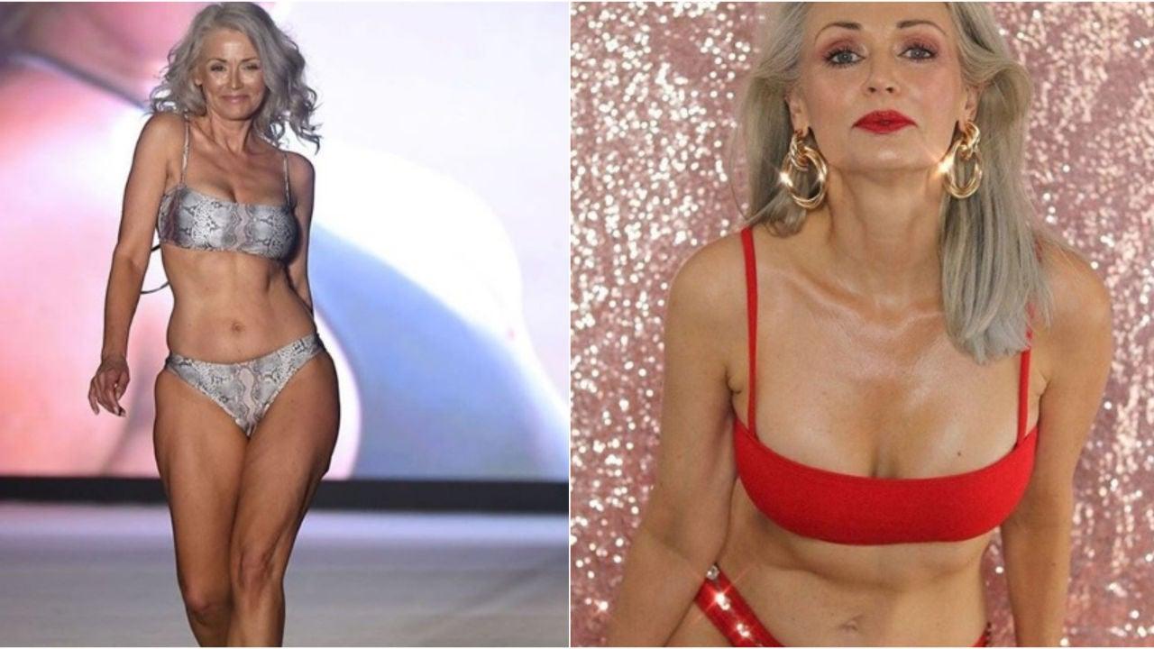 Así es Kathy Jacobs, la modelo de 56 años finalista para