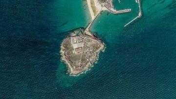La punta de Tarifa (Cádiz), cabo que es el punto más meridional de la Europa continental.
