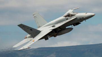Defensa confirma que dos aviones rusos hostigaron a dos F-18 españoles sobre el Báltico el pasado agosto
