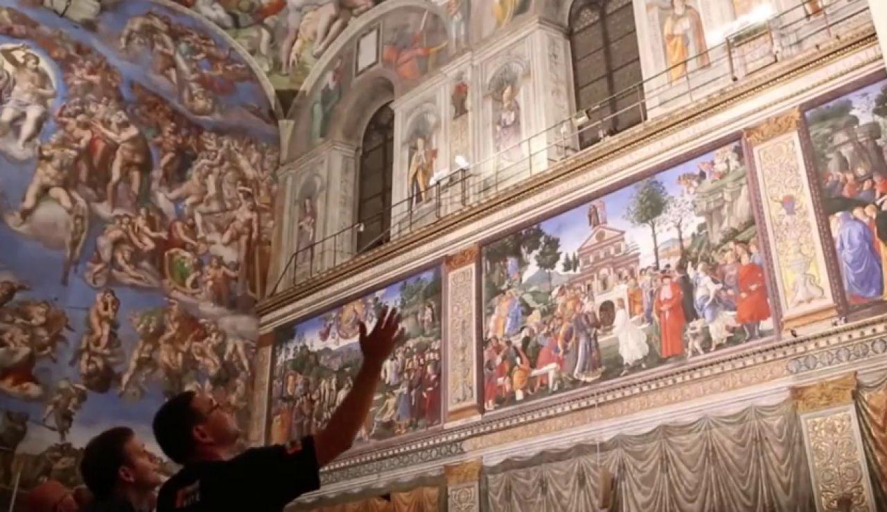Después de 400 años se podrán ver durante una semana los diez tapices de Rafael en la Capilla Sixtina