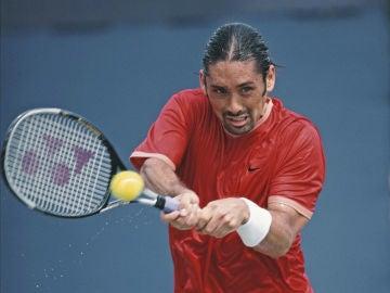 Marcelo Ríos, en su época como tenista