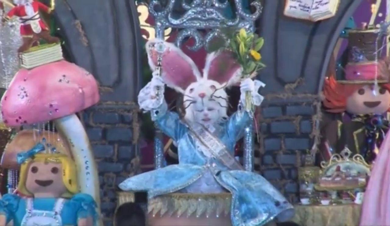 Rey infantil Carnaval