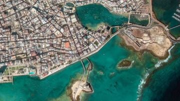 Arrecife de Lanzarote.
