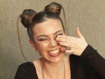 María Isabel en la ronda de chistes cortos en 'Tu cara me suena'