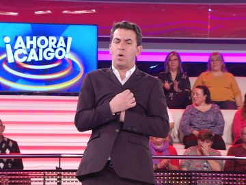 """Jesús deja atónito a Arturo Valls en '¡Ahora caigo!': """"Somos más hermanos que un equipo de fútbol"""""""