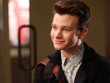 Chris Colfer como Kurt en 'Glee'