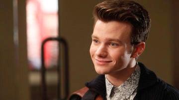 Chris Colfer como Kurt en 'Glee'